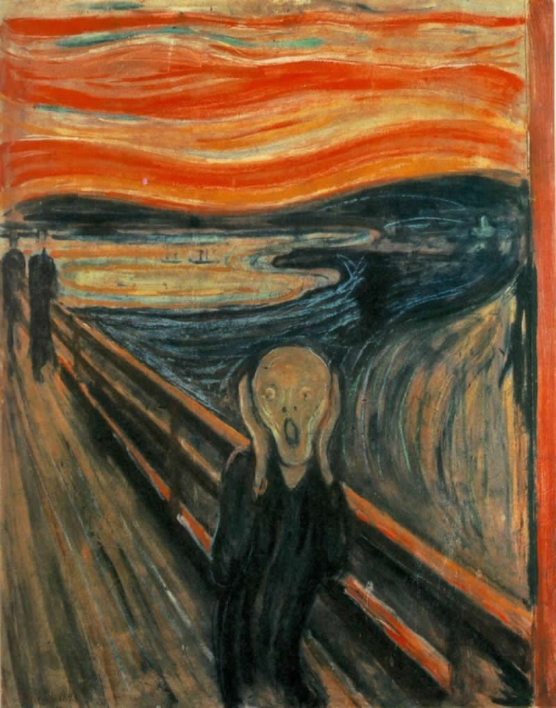 munch scream nlp